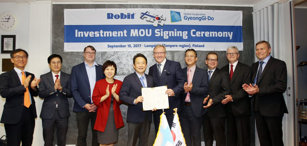 gyeonggi-province-and-robit-signed-an-agreement-last-september-on-the-investment-of-usd-10-million-foreign-direct-investment-at-the-companys-head-office-in-tampere-finland